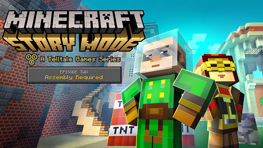 Minecraft Story Mode Episode Assembly Required Review