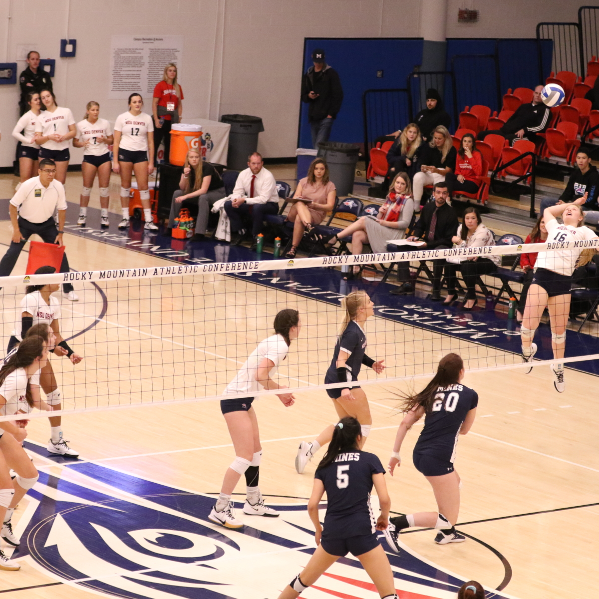 Slide Show Loss To Mines Costs Volleyball A Chance At Conference Greatness